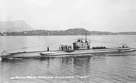 Circe Class French Submarines