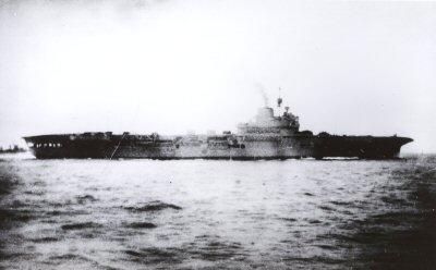HMS Invincible, 1940
