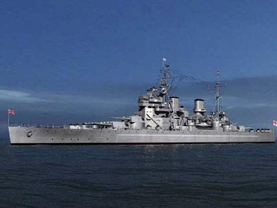 HMS King George V Revell 1/570 Hmskinggeorgev8